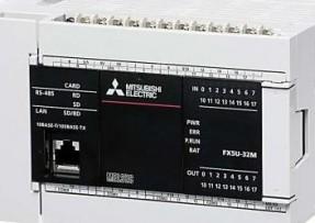 三菱可编程控制器FX5U-80MR/ES原装正品